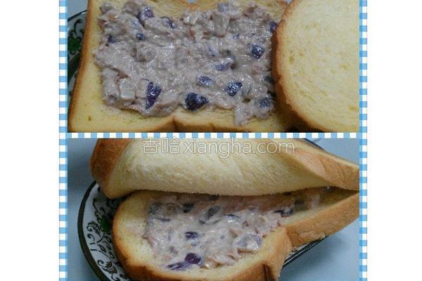 腰果鲔鱼奶酪抹酱的做法