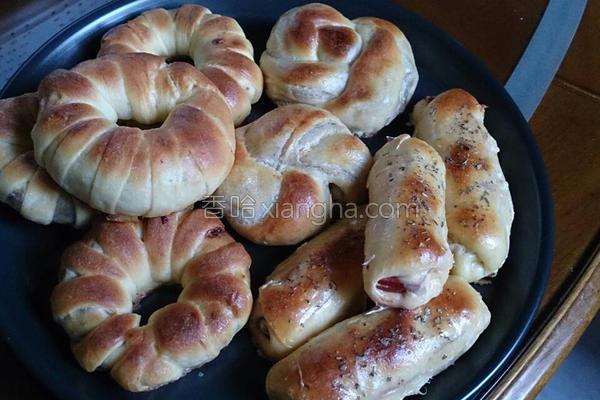 小小面包的做法