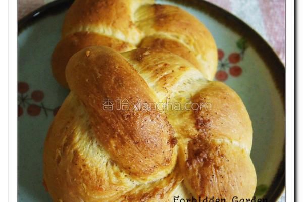 红萝卜小面包的做法
