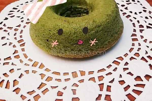 蛋糕甜甜圈的做法
