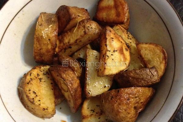 烤马铃薯的做法