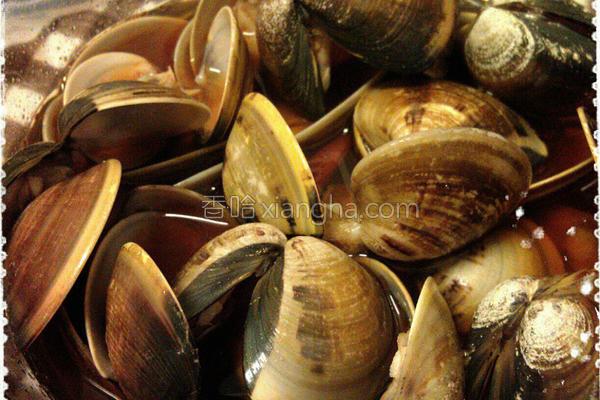 腌蛤蛎的做法