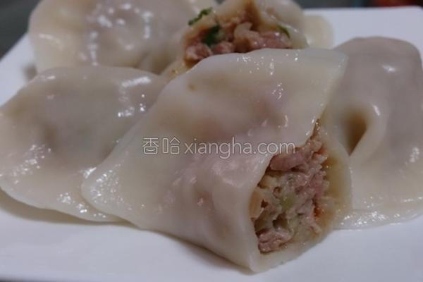 胡瓜水饺的做法