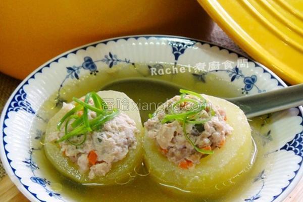黄瓜镶肉汤的做法
