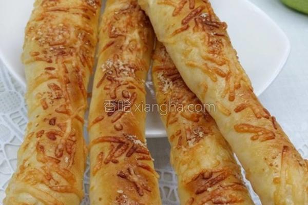 脆面芝士面包条的做法