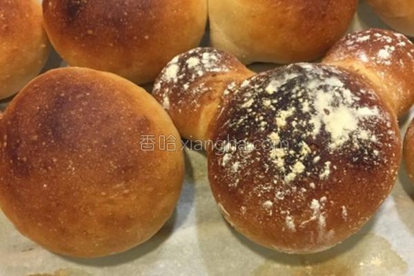 天然苹果酵母面包的做法