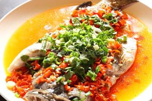 剁椒石斑鱼的做法