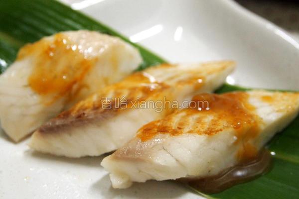 鱼片烧的做法