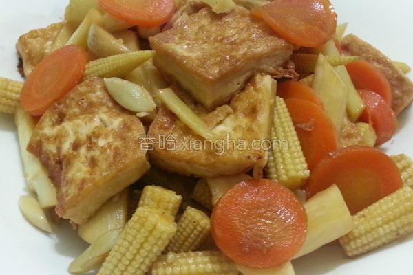 酱烧豆腐家常菜的做法