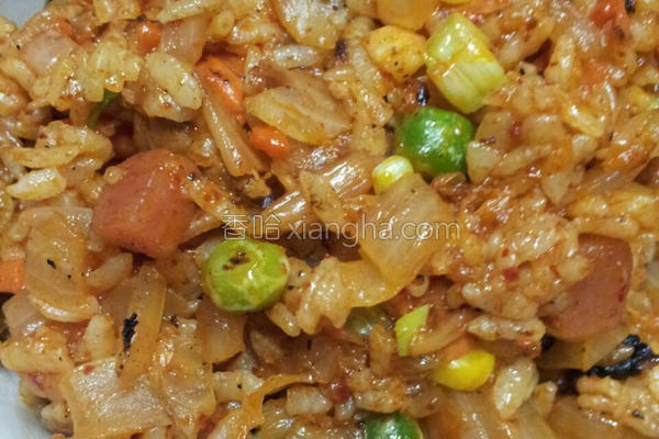 泡菜炒饭的做法