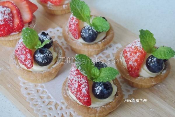 草莓乳酪塔的做法