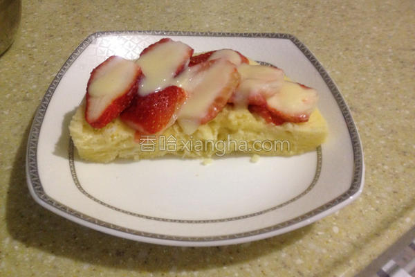 草莓短蛋糕的做法