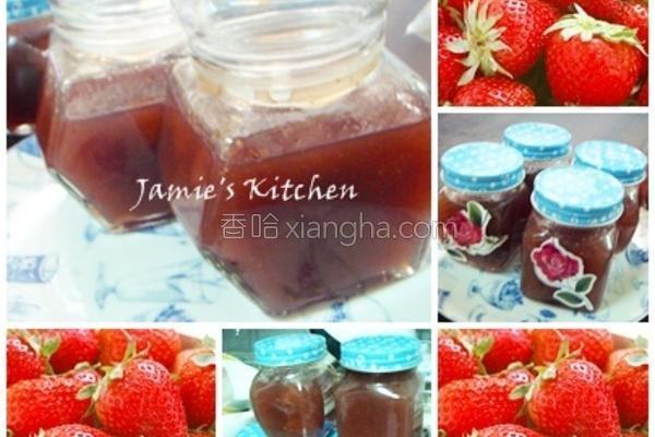 春天草莓酱的做法