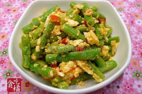 咸蛋干煸四季豆的做法