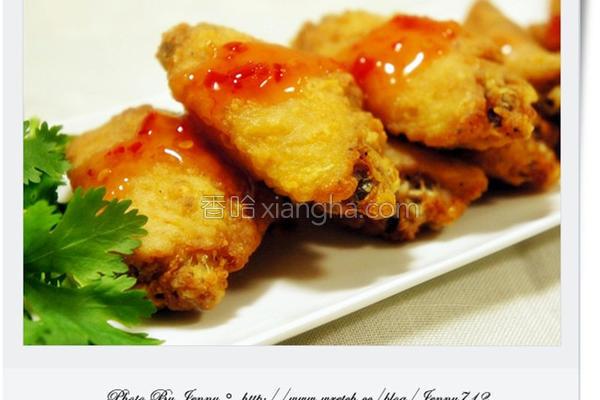泰式香辣鸡翅的做法