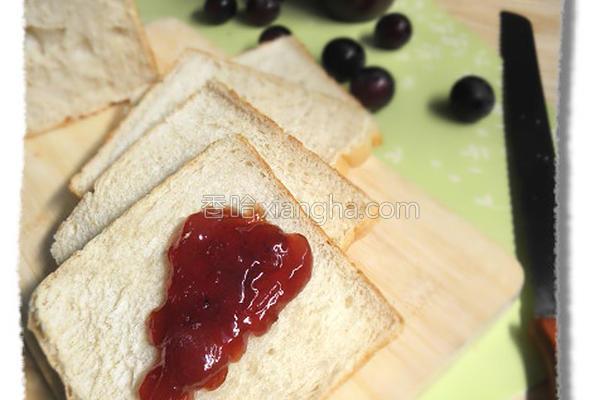 葡萄果酱的做法