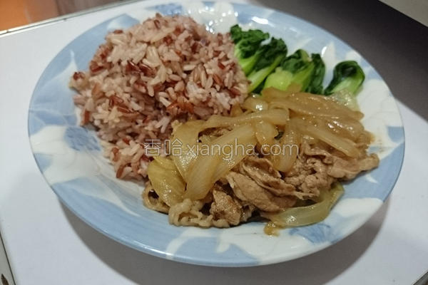 日式牛肉饭的做法