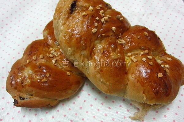 黑糖十谷面包的做法