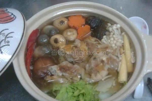 脆皮馄饨咕咕汤的做法