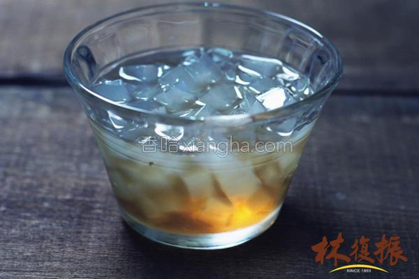 冬瓜茶海燕窝冻饮的做法
