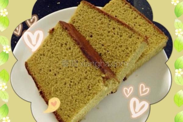抹茶蜂蜜蛋糕的做法