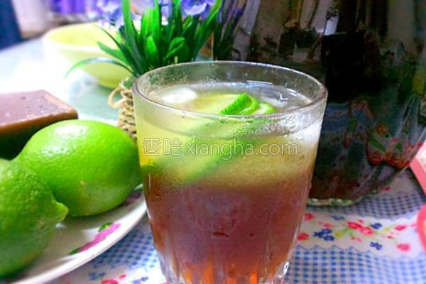 冬瓜柠檬茶的做法
