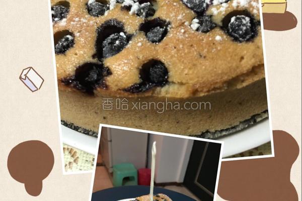 蓝莓伯爵茶磅蛋糕的做法