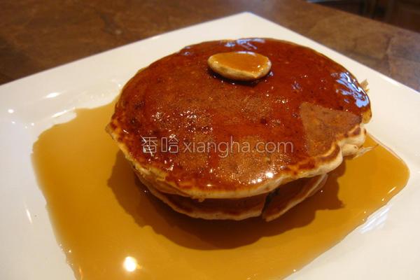 核桃燕麦煎饼的做法
