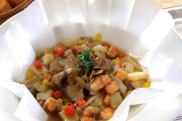 奶油菇菇烧的做法