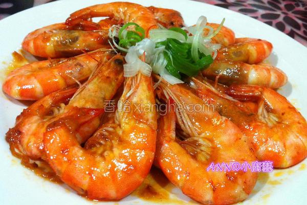 甜酸辣子虾的做法