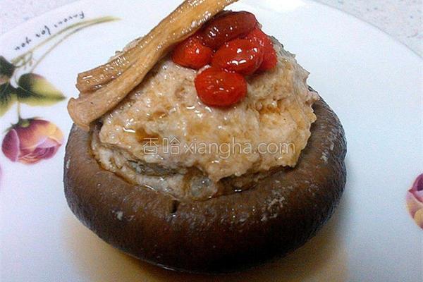 鲜菇蒸肉的做法