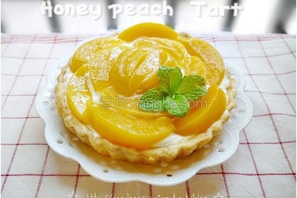 水蜜桃奶油酥塔的做法