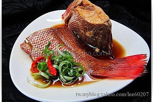 酱煮鱼的做法