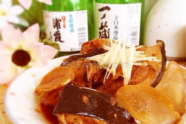 姜烧鰆鱼的做法