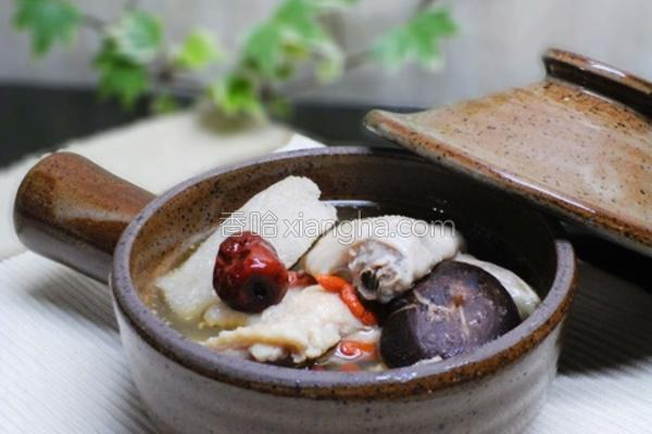竹笙香菇鸡汤的做法