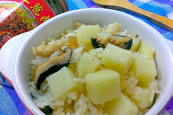 麻竹笋炊饭的做法