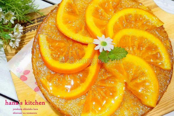 柳橙蛋糕的做法