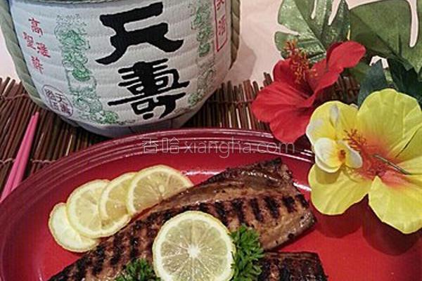 香煎鲭鱼柳的做法