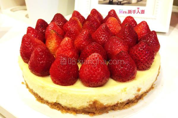 草莓乳酪蛋糕的做法