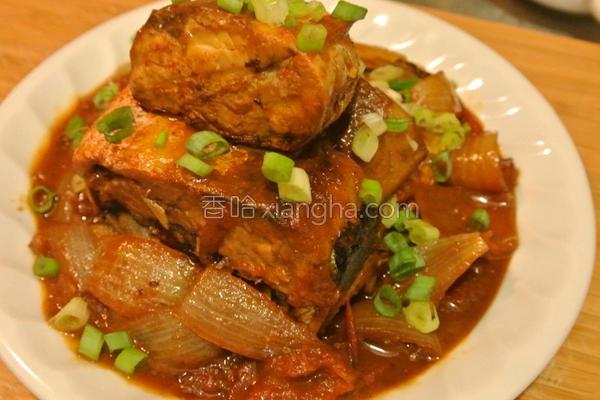 鲜美茄汁鲭鱼的做法