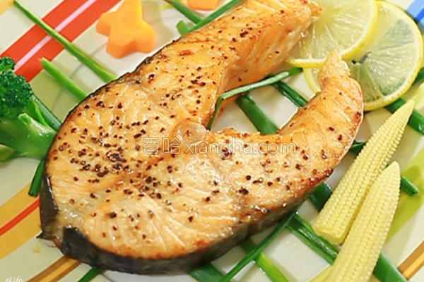 烤鲑鱼的做法