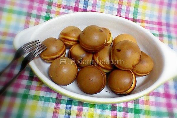 丸子松饼的做法