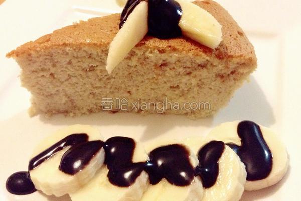 日式香蕉乳酪蛋糕的做法