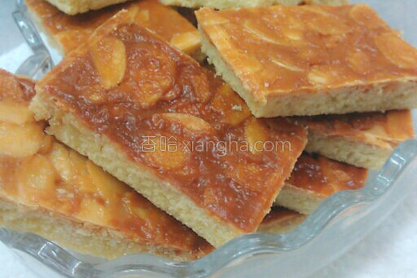 太妃杏仁酥饼的做法