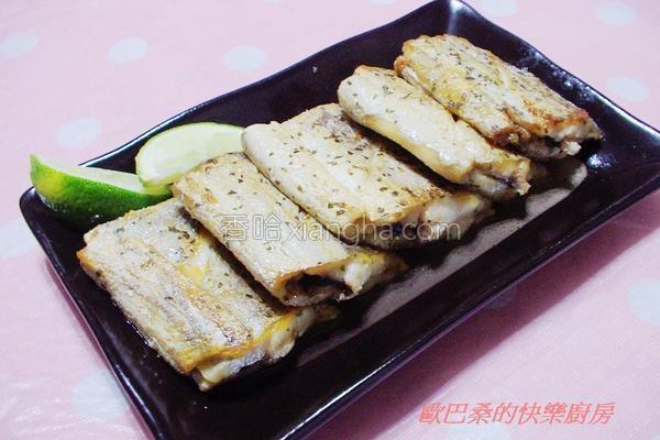香草白带鱼的做法