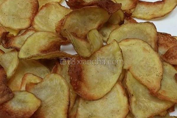 胡椒薯片的做法