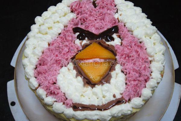 蛋奶芒果慕斯蛋糕的做法