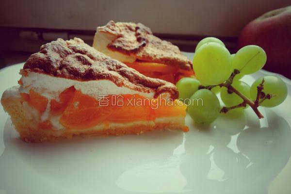 桃子蛋白派的做法