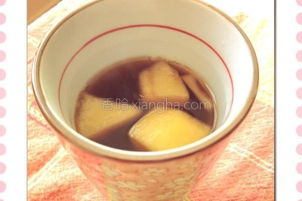 苹果茶的做法