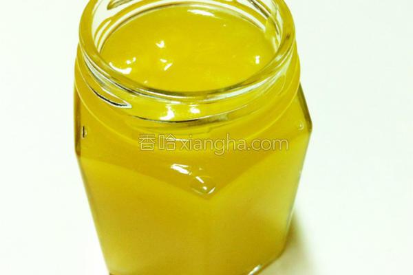 蜂蜜柠檬奶油酱的做法